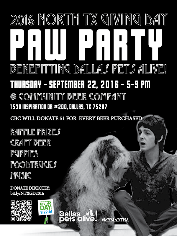 NTX GIVING DAY 2016 PARTY POSTER FINAL
