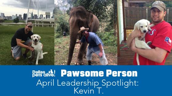 DPA's Pawsome People: April 2019 Leadership Spotlight