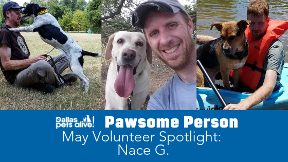 DPA's Pawsome People: May 2019 Volunteer Spotlight