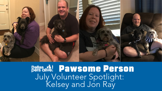 DPA's Pawsome People: July 2019 Volunteer Spotlight