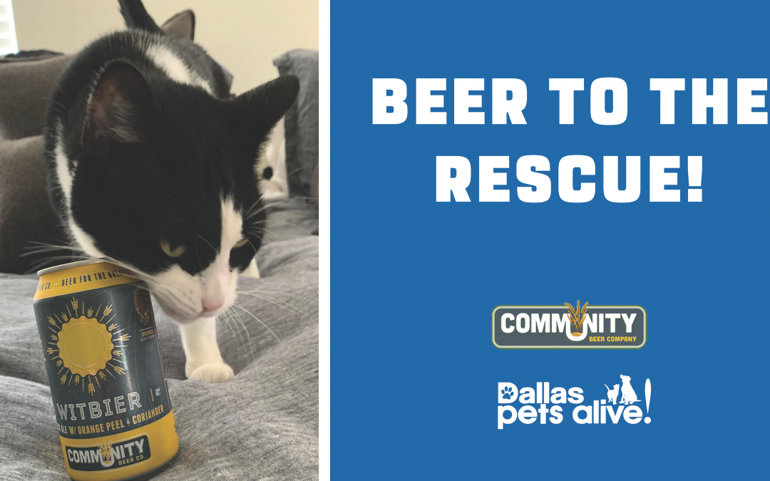 "DPA & Community Beer Company Kick Off ""Beer to the Rescue!"" Drive"